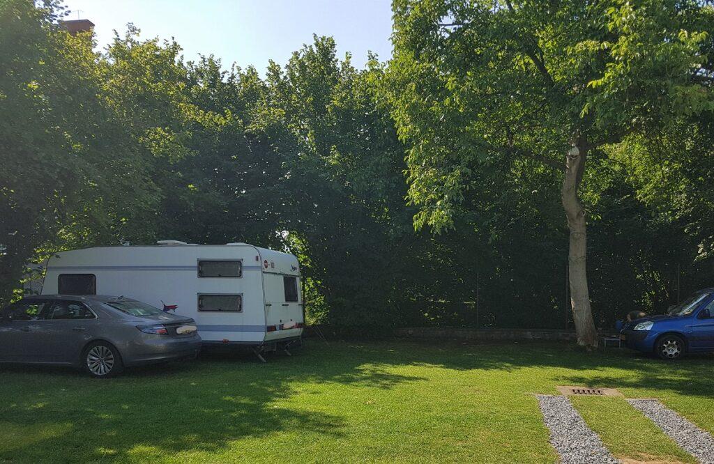 kleine camping in praag