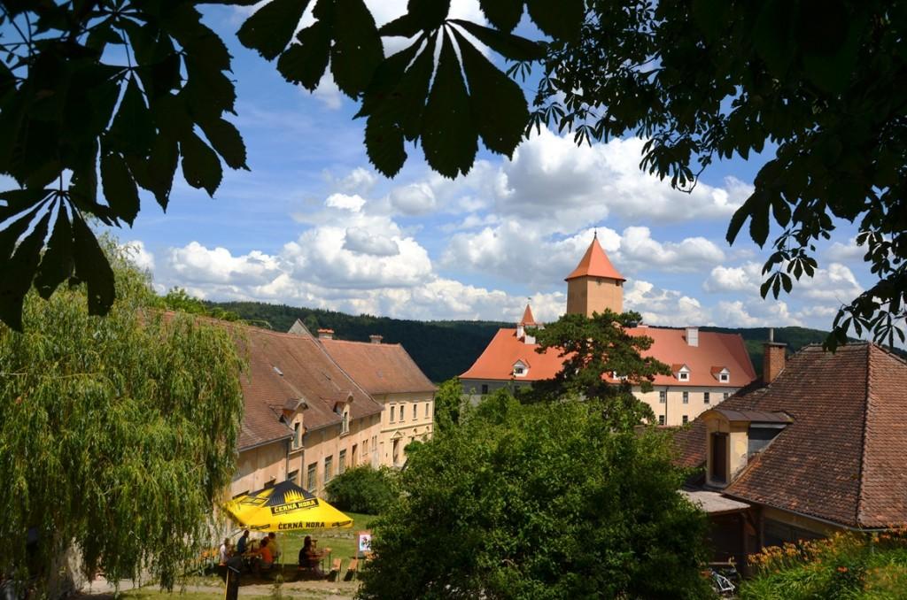 hrad veveri terras tsjechie burcht