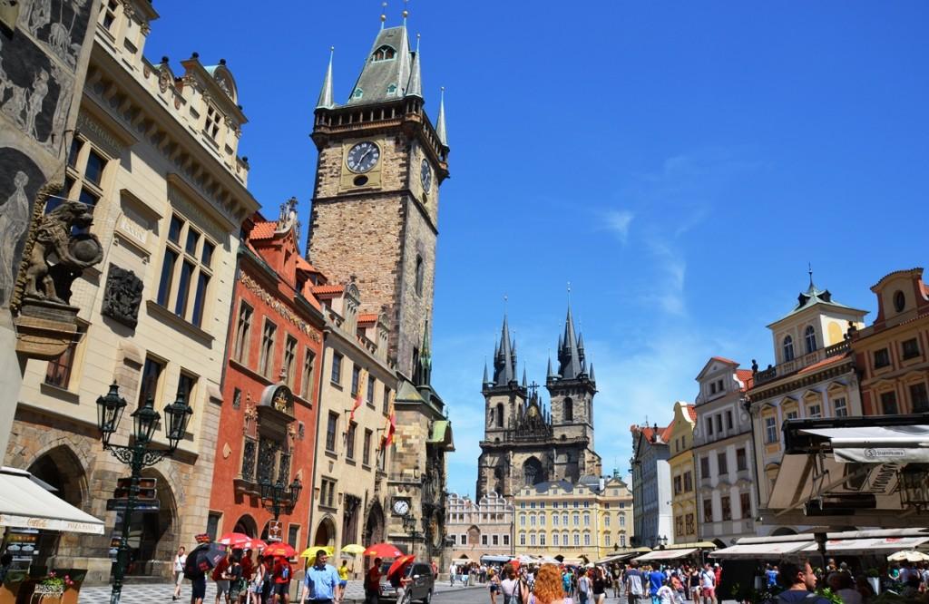 oude plein praag stedentrip