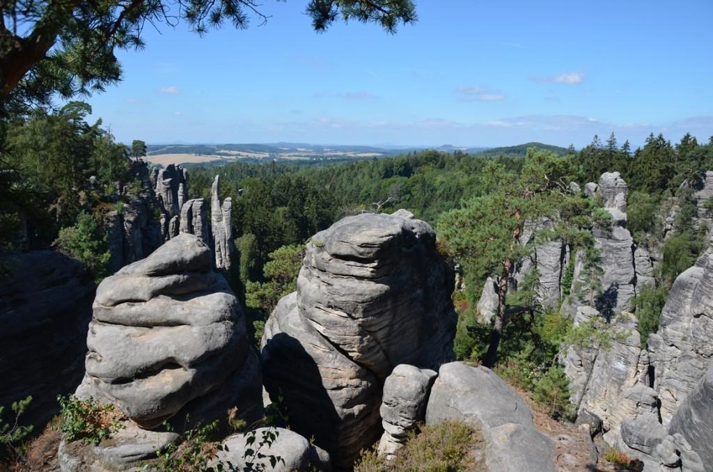 uitzicht rotsen wandeling tsjechie