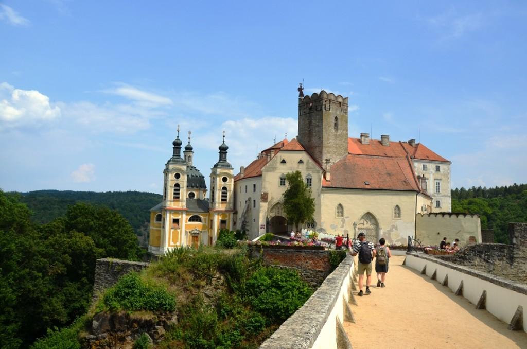 Vranov nad Dyji tsjechie kasteel