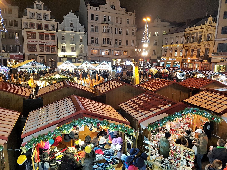 kerstmarkt tsjechie pilsen plzen