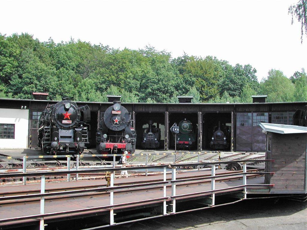 Spoorwegmuseum Tsjechië