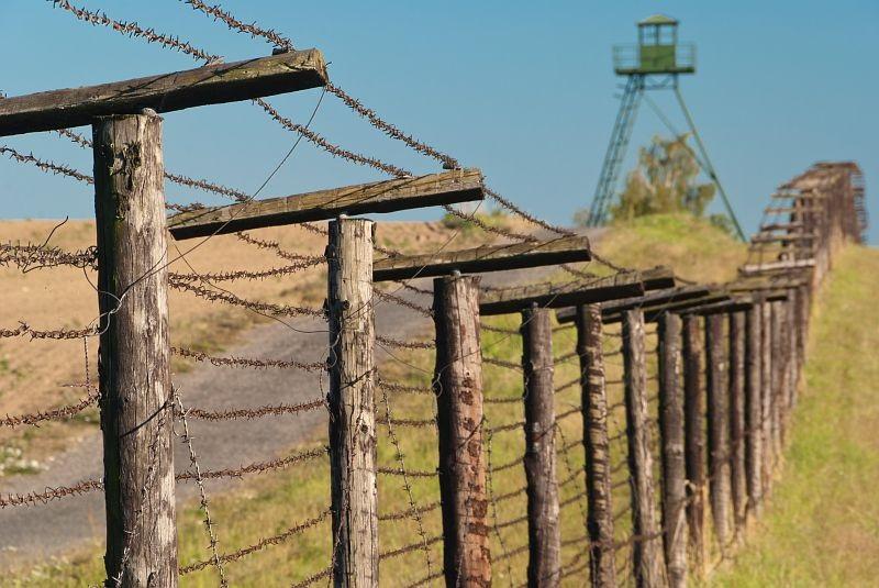 ijzeren gordijn route in tsjechie